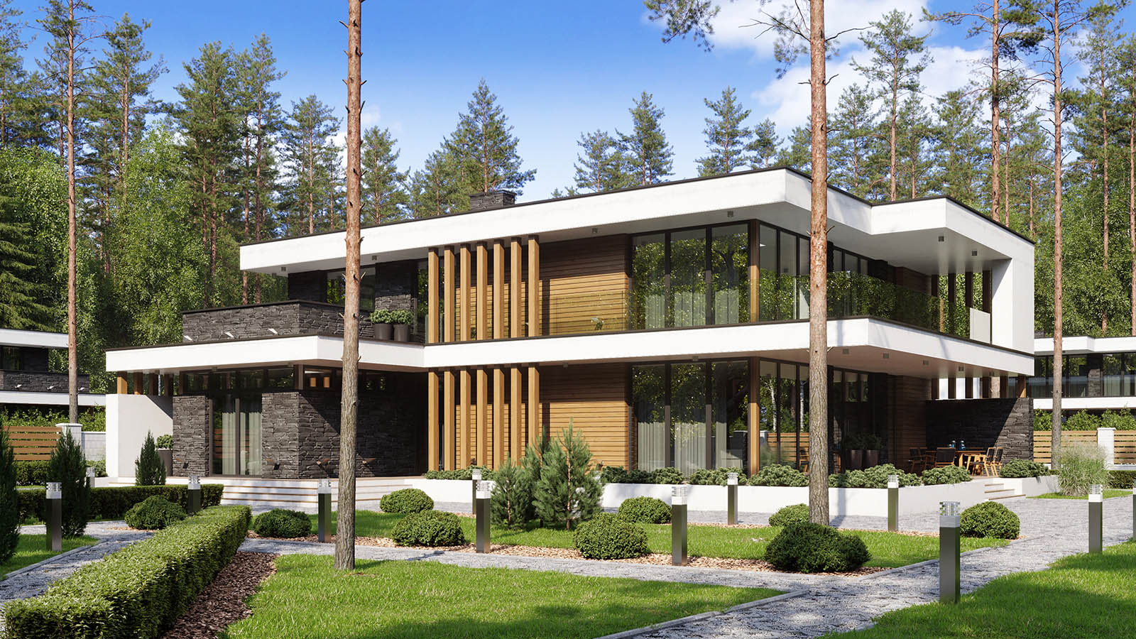 Modern Houses 3D Visualizations_by Capture.Design for ISO